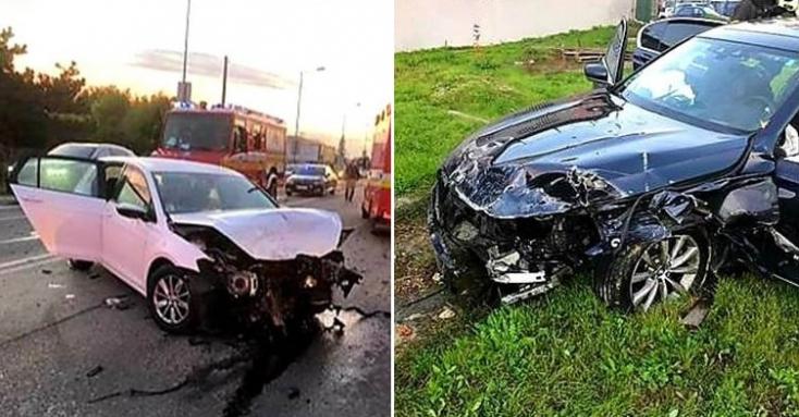 Kollár állapota a 63-ason elszenvedett balesete után stabil, egyik sofőr sem volt ittas