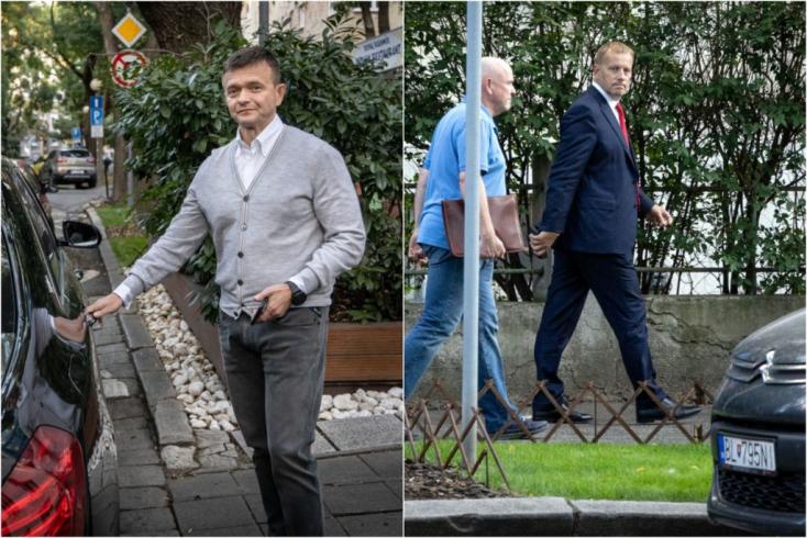 Boris Kollár pénteken titokban találkozott a Penta vezérével, Jaroslav Haščákkal! (Videó)