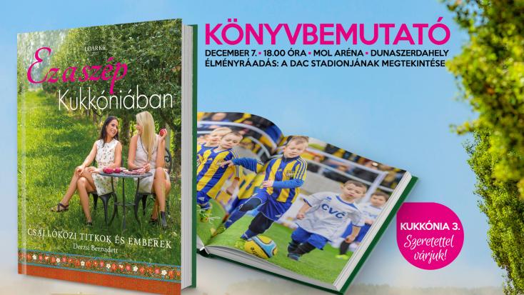 Könyvbemutató a MOL Arénában!