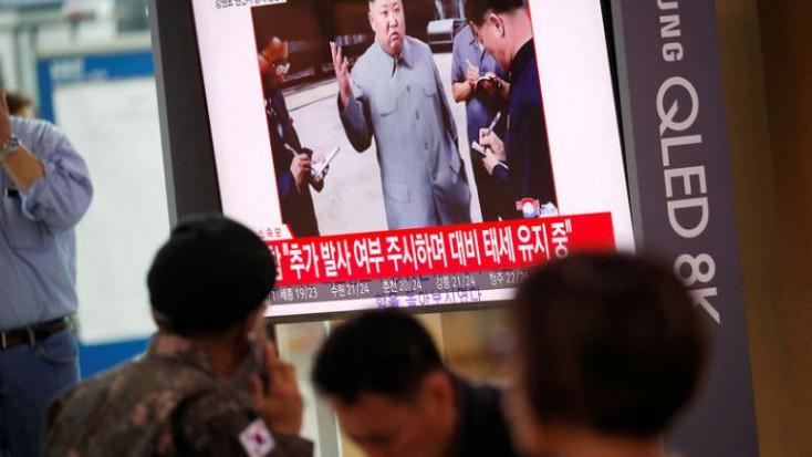 Észak-Korea újabb rakétát lőtt ki a Japán-tenger irányába
