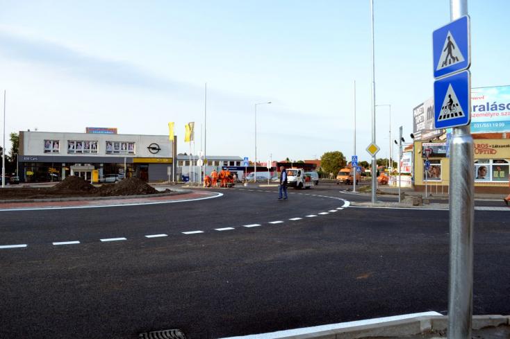 Felülvizsgálják a bősi és a dunaszerdahelyi körforgalom rekonstruálását