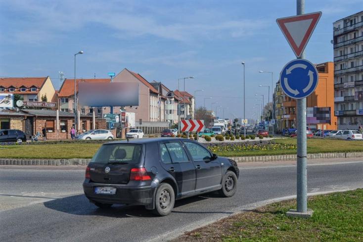 Elszabadul a pokol? Csütörtökön lezárják Dunaszerdahely központi körforgalmát!