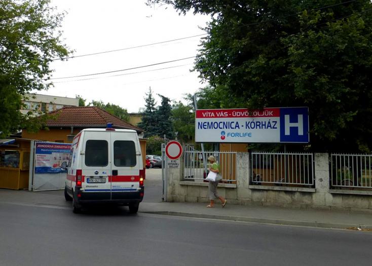 Megtelt a komáromi kórház Covid-osztálya