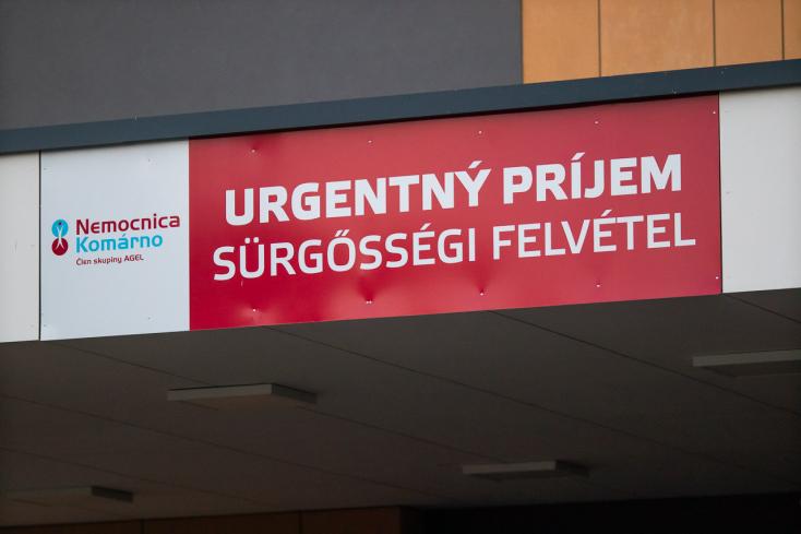 A fertőzöttek számának emelkedése miatt átszervezés volt a komáromi kórházban