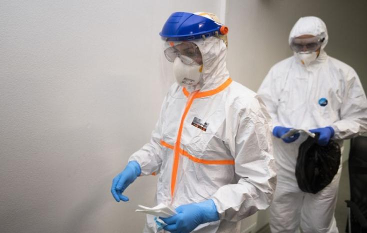 Meghaladta a 120 ezret a fertőzések száma Nagy-Britanniában, csökkent a napi halálozási szám