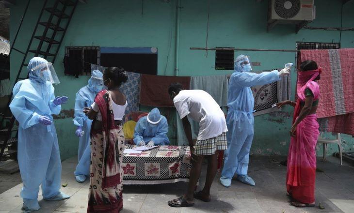 Indiában ismét rekordot döntött a koronavírus-fertőzöttek napi növekedése
