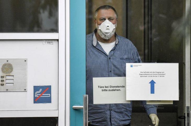 Németországban átlépte a 35 ezret az azonosított koronavírus-fertőzöttek száma