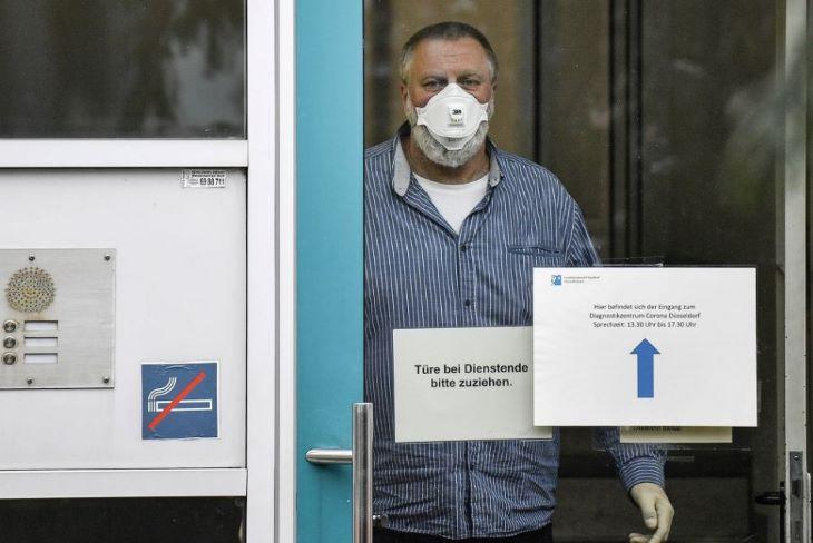 Nyolchavi mélypontra süllyedt az új fertőződések száma Németországban