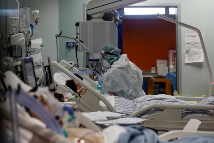 Belgiumban hamarosan elfogyhatnak a még szabad intenzív osztályos kórházi ágyak