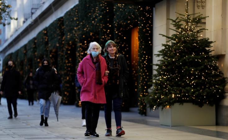 Koronavírus - Szemaforrendszert léptet életbe Anglia decembertől