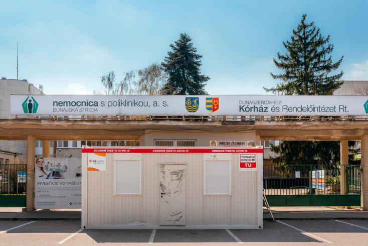 47 aktív fertőzött van a Dunaszerdahelyi járásban, egyet ápolnak kórházban