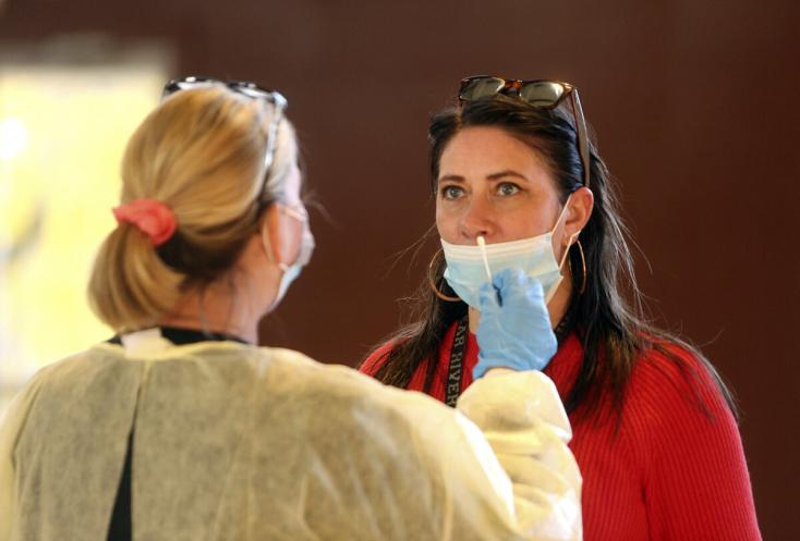 Koronavírus - Idén másodszor járt 100 felett a napi fertőzöttszám a Dunaszerdahelyi járásban