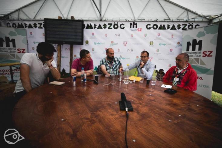 A sajtószabadságról élőben Gombaszögről