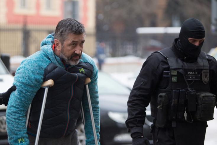 Őrizetbe vették a Takáč-banda vezérét