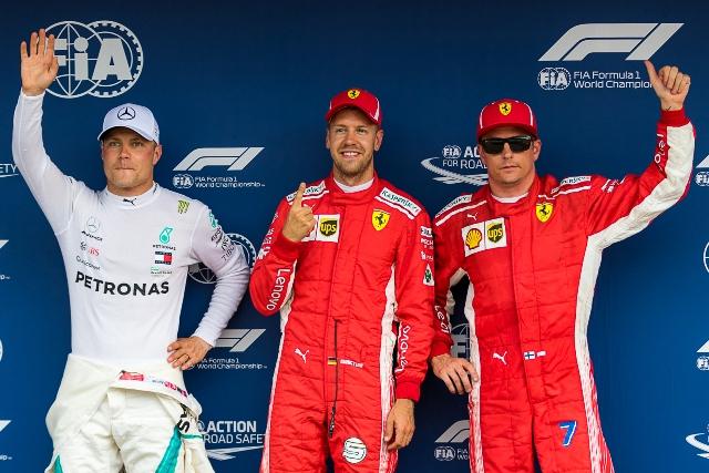 Forma-1 - Német Nagydíj - Vettelé az első rajtkocka, Hamilton csak 14.