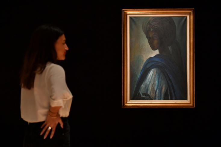 """Elárverezik az """"afrikai Mona Lisát"""