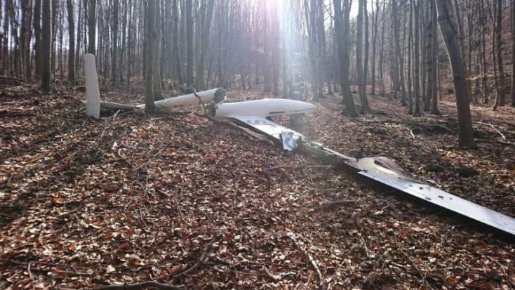 Összeütközött két vitorlázórepülő