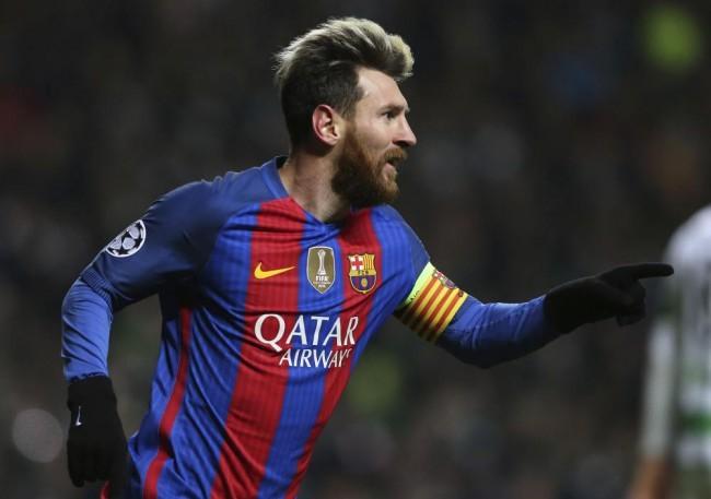 Lionel Messi hajrágóljával szerzett egy pontot a Barcelona