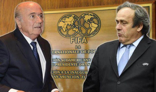 FIFA: Platini és Blatter 8 éves eltiltást kapott