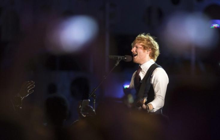 Ed Sheerant hallgatták a legtöbben idén a Spotify-on