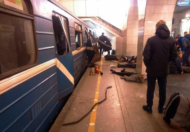 Szentpétervári robbantás - Nőtt a halálos áldozatok száma
