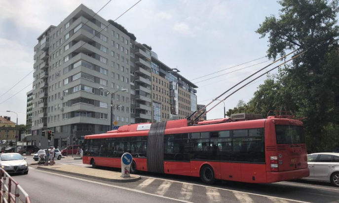 Áramkimaradás bénította meg délelőtt Pozsonyt - már helyreállt a közlekedés