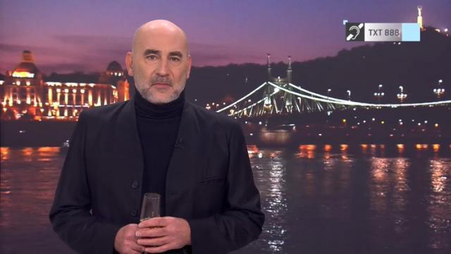 """""""Ne féljetek szeretni"""" - Kulka János mondott megható újévi köszöntőt az RTL Híradóban"""