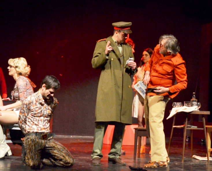 SIKER: Közönség-díjat kapott Kisvárdán a Kassai Thália Színház Rükverc című előadása