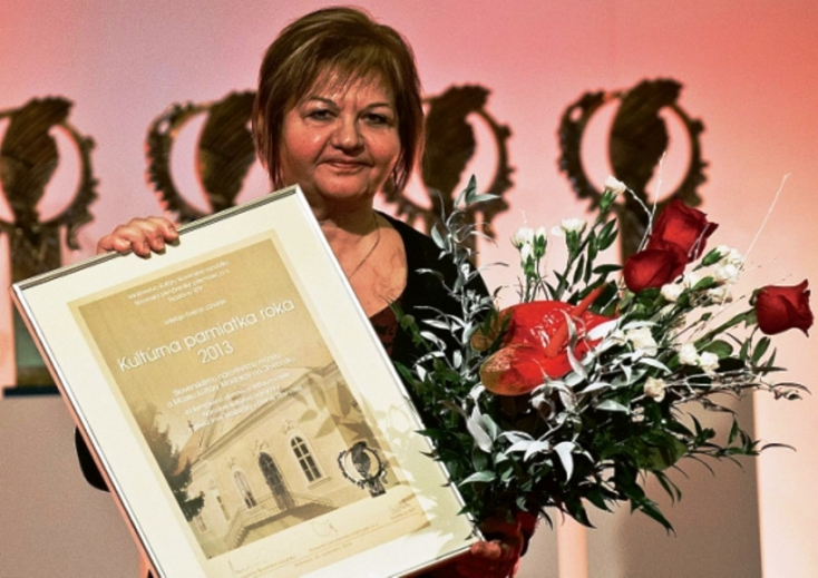 Elismerés az alsósztregovai Madách-kastély teljes rekonstrukciójáért