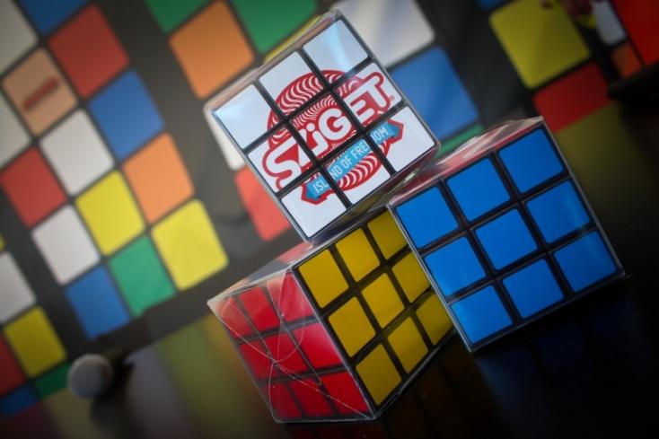 Sziget - Különleges helyszínnel ünnepli a Rubik-kockát a Sziget