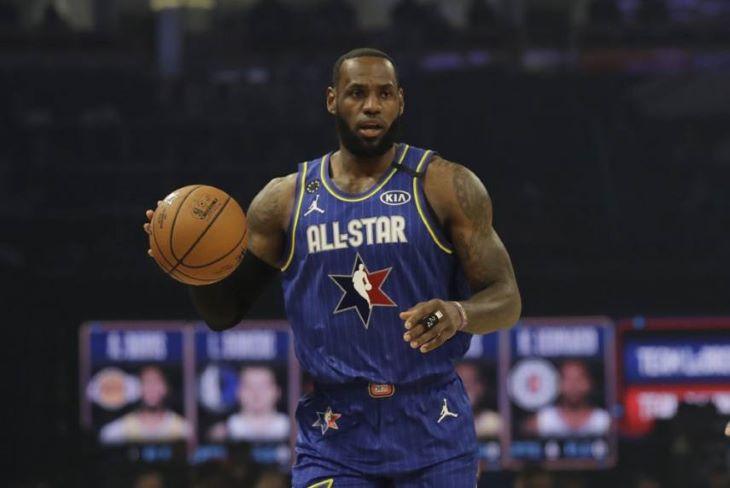 NBA - LeBron James csapata nyerte az All Star-meccset