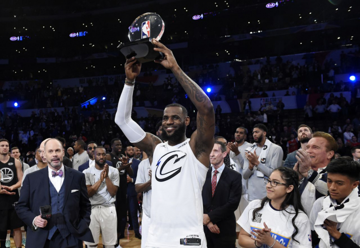 LeBron James csapata nyerte a formabontó All Star-gálát! (Videó)