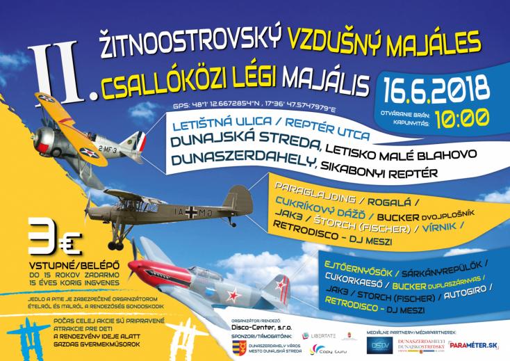 II. Csallóközi Légi Majális Dunaszerdahelyen!