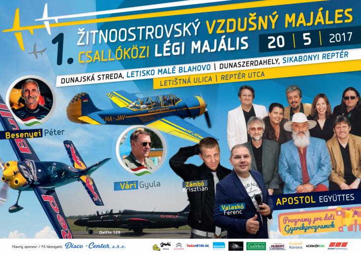 Légi majális Dunaszerdahelyen - Besenyei Péter is bemutatót tart!