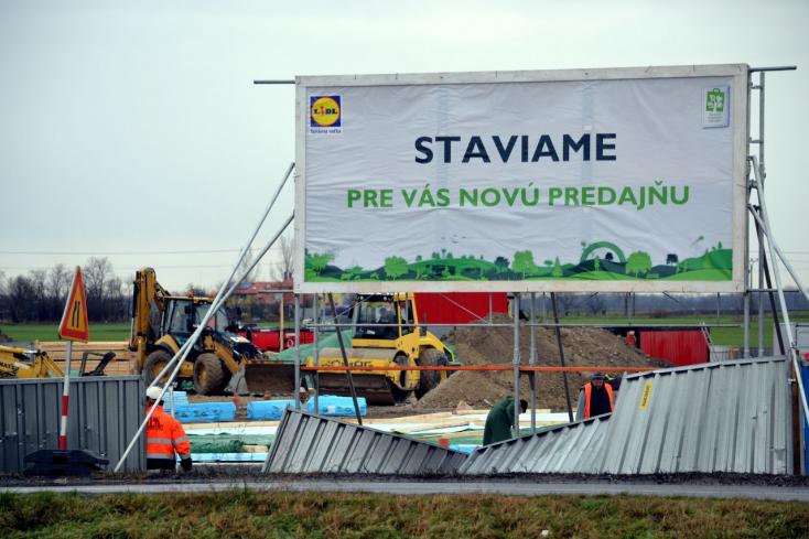 Hónapokon belül megnyit a második Lidl Dunaszerdahelyen