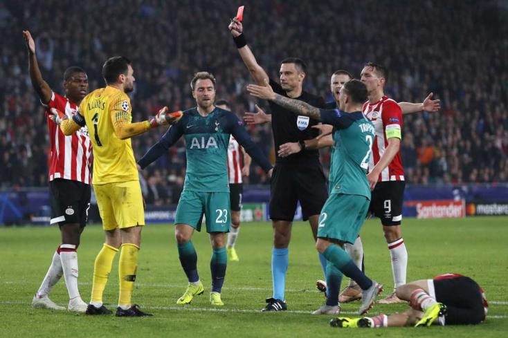 Bajnokok Ligája - Döntetlent játszott Eindhovenben a Tottenham