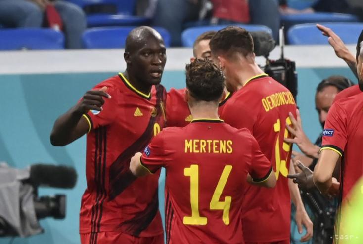 EURO-2020: Könnyed belga siker az orosz házigazda ellen, Lukaku duplázott