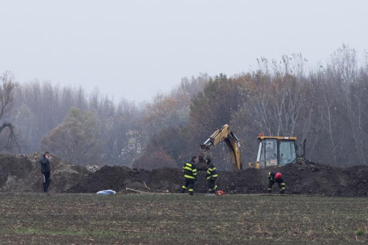 MAFFIA: Újabb holttestet ásott ki a NAKA Dunaszerdahely közelében