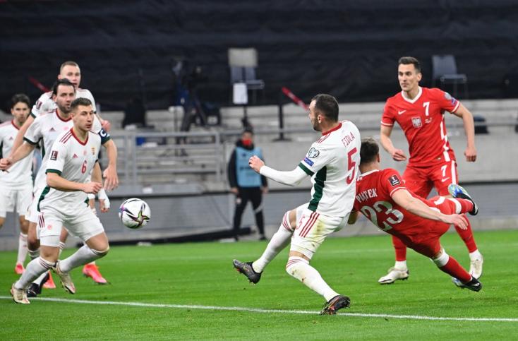 Döntetlenezett amagyar válogatott a lengyelek elleni vb-selejtezőn