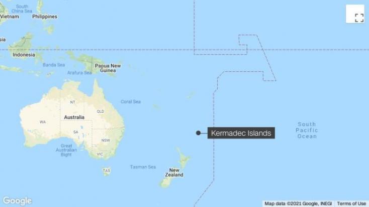 Erős földrengés rázta meg Új-Zéland partjait, szökőárriadót rendeltek el