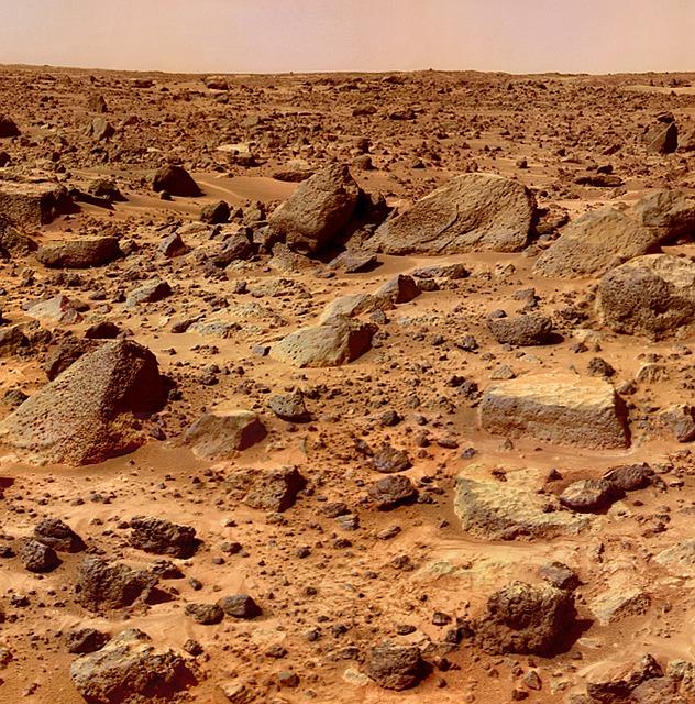 Ősi sarkvidéki jégtakarók maradványai a Mars felszíne alatt húzódó jégrétegek