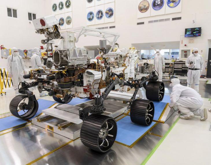 Július 17-én indul a Marsra a NASA legújabb marsjárója