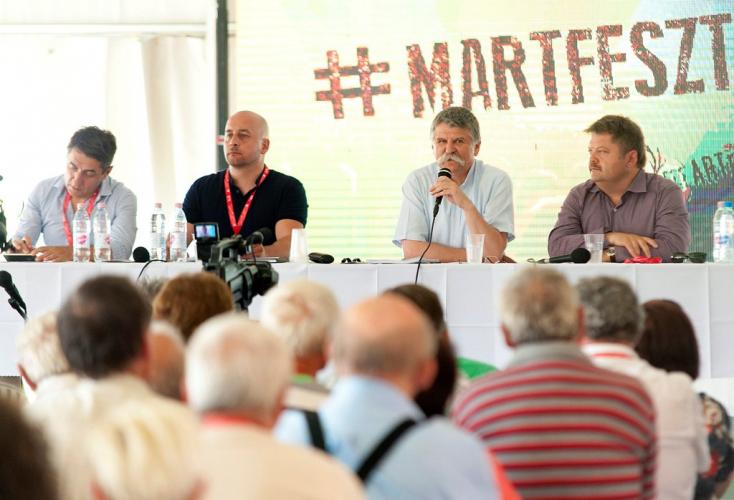 Kövér László a MartFeszt-en elrabolta a show-t