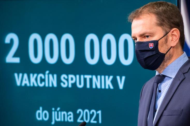 """Matovič 2 millió adag Szputnyik V-t ígér júniusig, a miniszterelnök szerint a Za ľudí kísérletezik az emberekkel, hogy """"túlélik-e a járványt"""""""