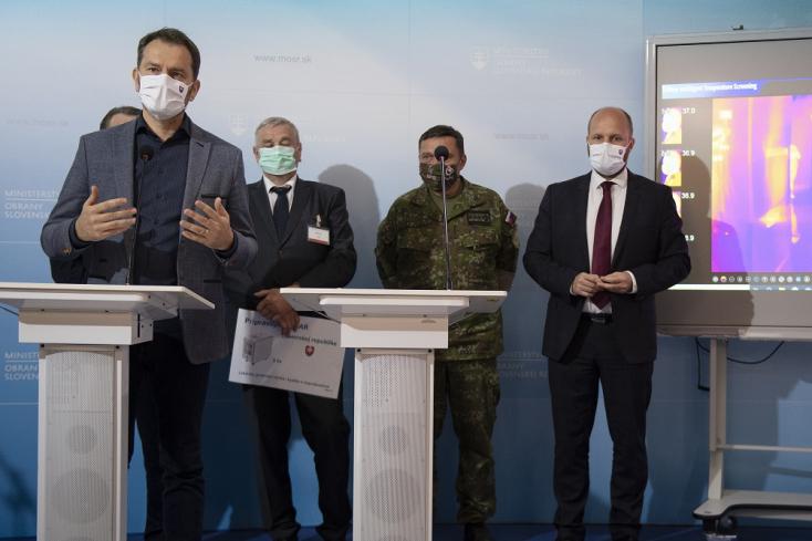 """Itt a saját fejlesztésű teszt, ami """"kis doboz az emberek számára, de egy nagy lépés Szlovákiának"""""""