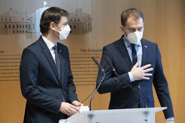 Heger szerint Matovič nem politikai tárgyalásokat folytat Moszkvában, értesítették Čaputovát is