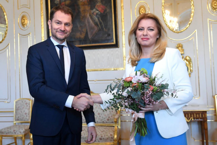 Matovič most már biztos miniszterelnök lesz, Zuzana Čaputová megbízta