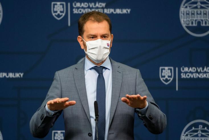 Mintha választani mennénk, úgy fognak bennünket tesztelni koronavírusra - jelezte Matovič