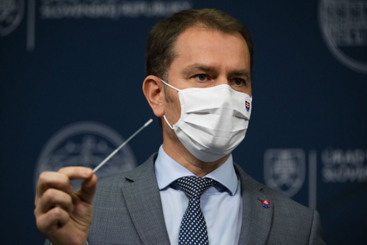 Megtalálták a kapcsolatot az antigén gyorstesztek egyik beszállítója és Matovič között, aki szerint viszont ez nevetséges