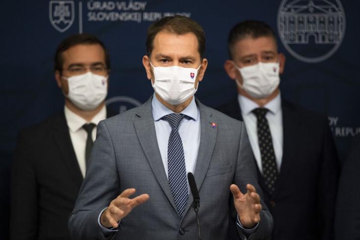 Čaputovát érdekli a tömeges tesztelés, ezért Matovič keddre összehívja a Biztonsági Tanácsot
